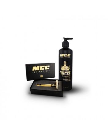 Pack Shaving gel 2.0 + Rasoir Gold Collector